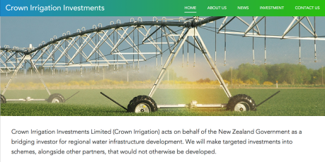 crown irrigation